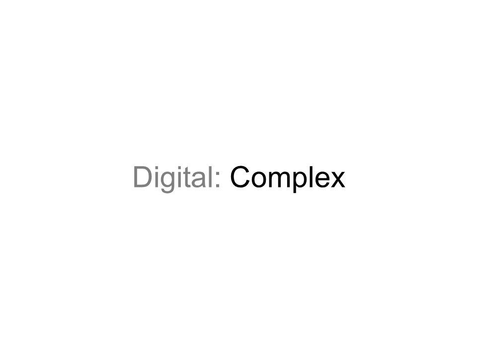 Digital: Complex
