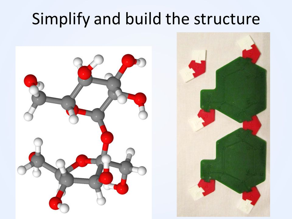 Simplify and build the structure