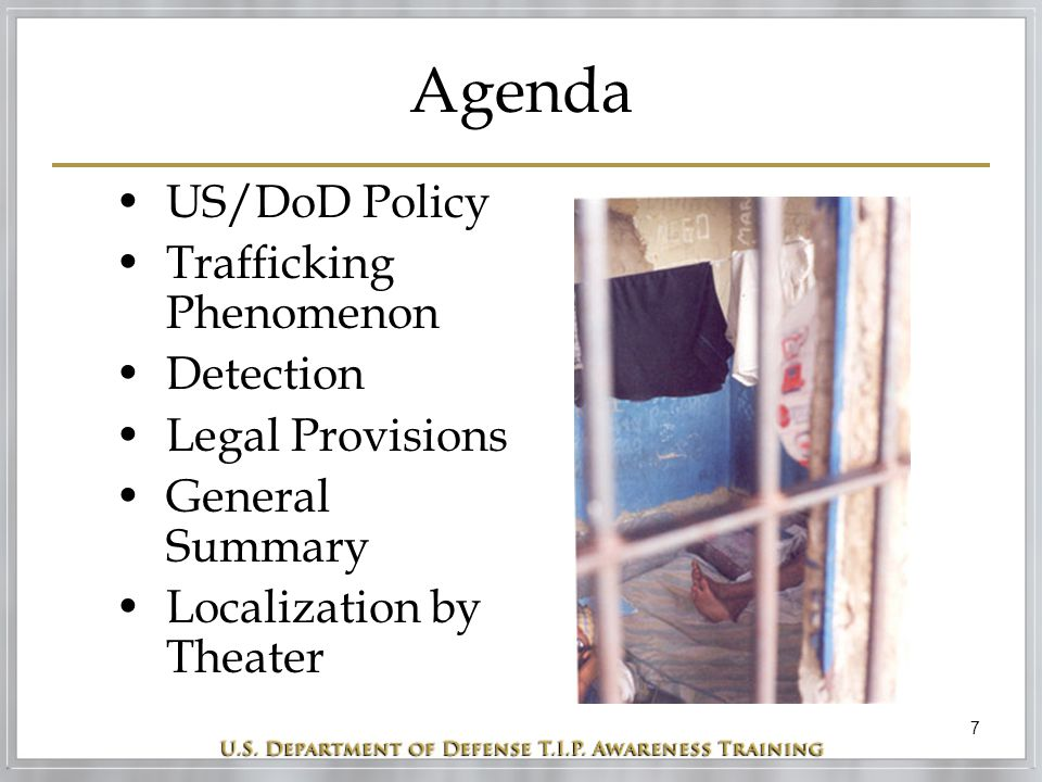 38 Reporting Trafficking If you believe you have witnessed a trafficking operation or believe a person is being trafficked, you should...