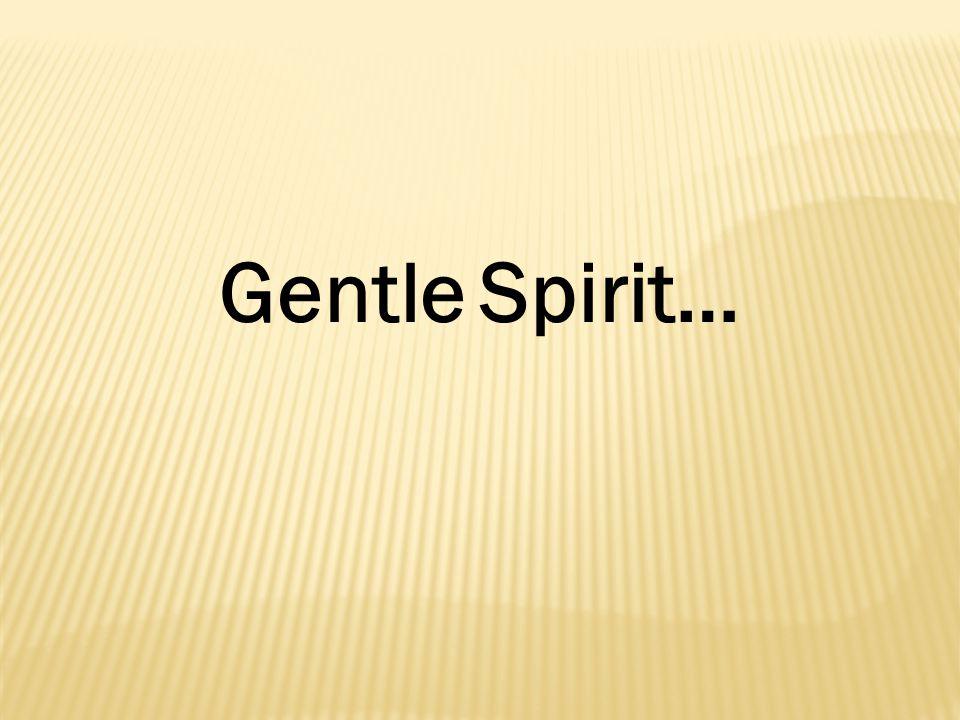 Gentle Spirit…
