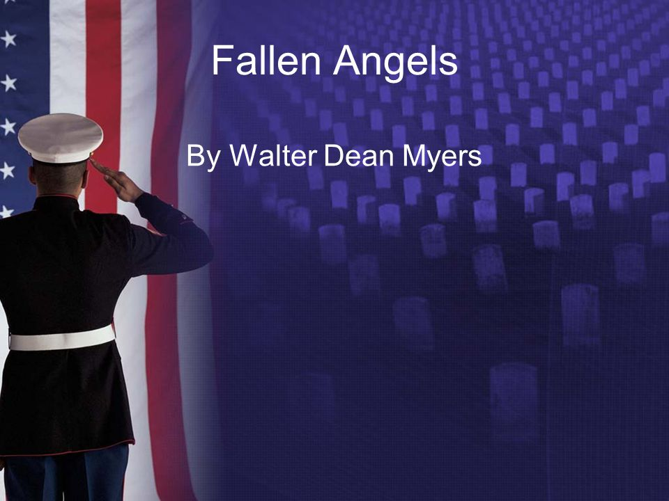 Fallen Angels – Tracking Characters: Richie Perry Main character, 17 yrs.
