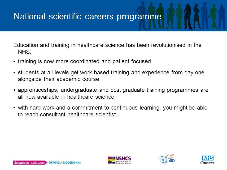 Modernising Scientific Careers: Career and Training Pathways