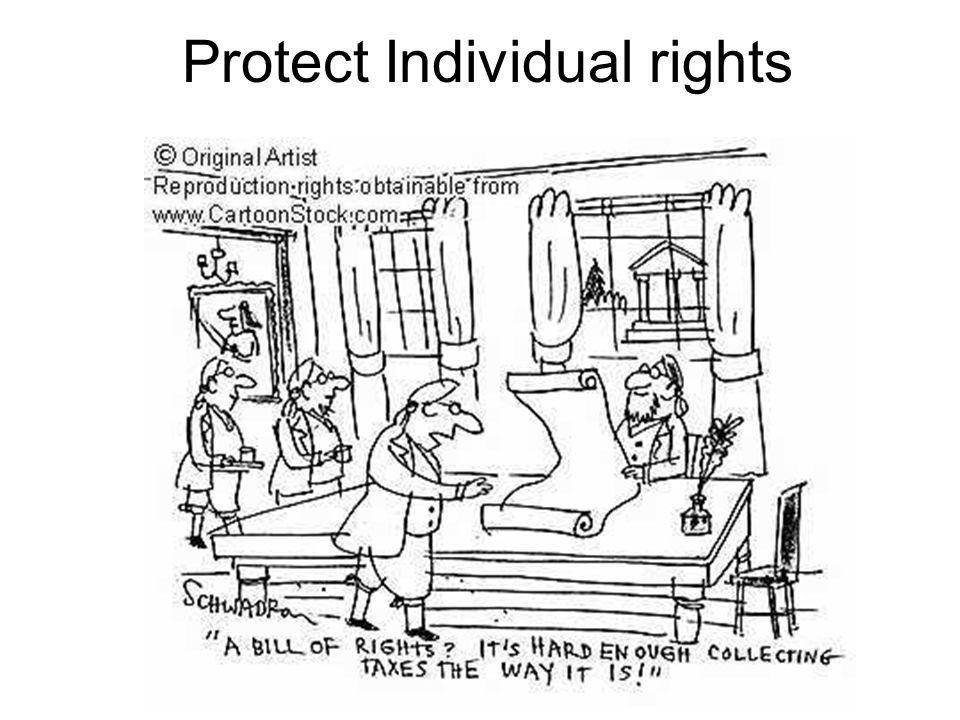 Protect Individual rights