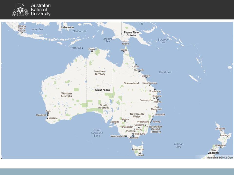 Australia 8 jurisdictions (6 states; 2 self governing territories).