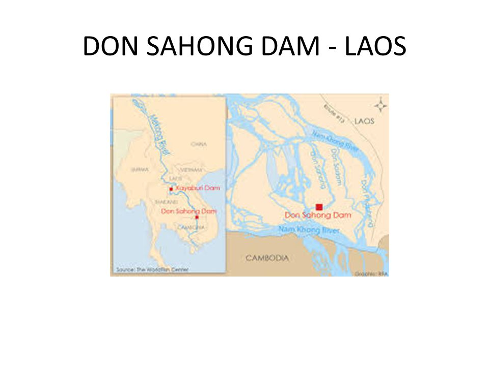 DON SAHONG DAM - LAOS