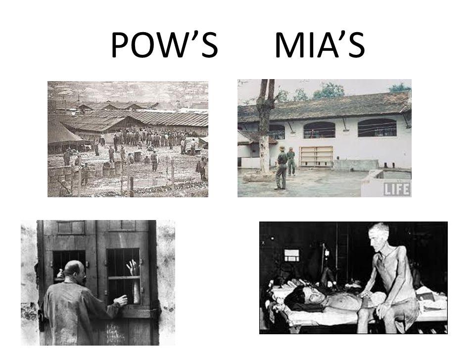 POW'S MIA'S