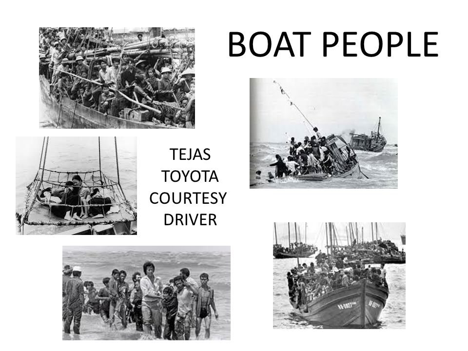 BOAT PEOPLE TEJAS TOYOTA COURTESY DRIVER