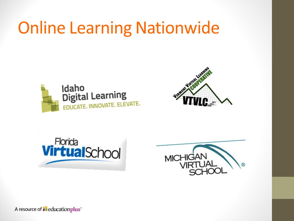 Online Learning Nationwide
