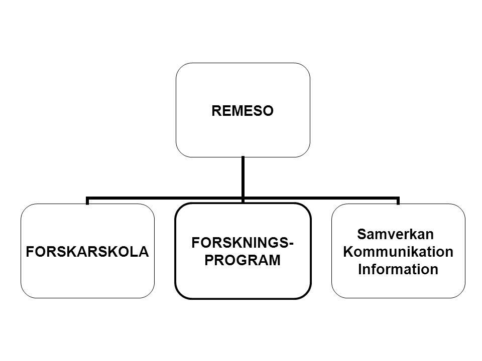 Forskningsperspektiv REMESO kombinerar forskning om internationell migration och etniska relationer med analys av ekonomisk globalisering, arbetsmarknadens omvandling och välfärdsstatens förändringar.