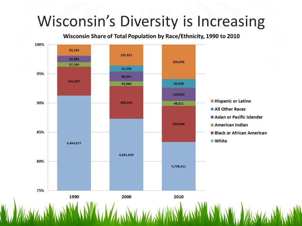 Wisconsin's Diversity is Increasing