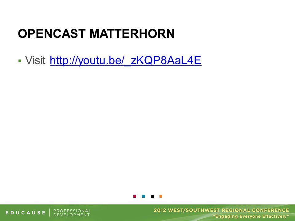 OPENCAST MATTERHORN  Visit http://youtu.be/_zKQP8AaL4Ehttp://youtu.be/_zKQP8AaL4E