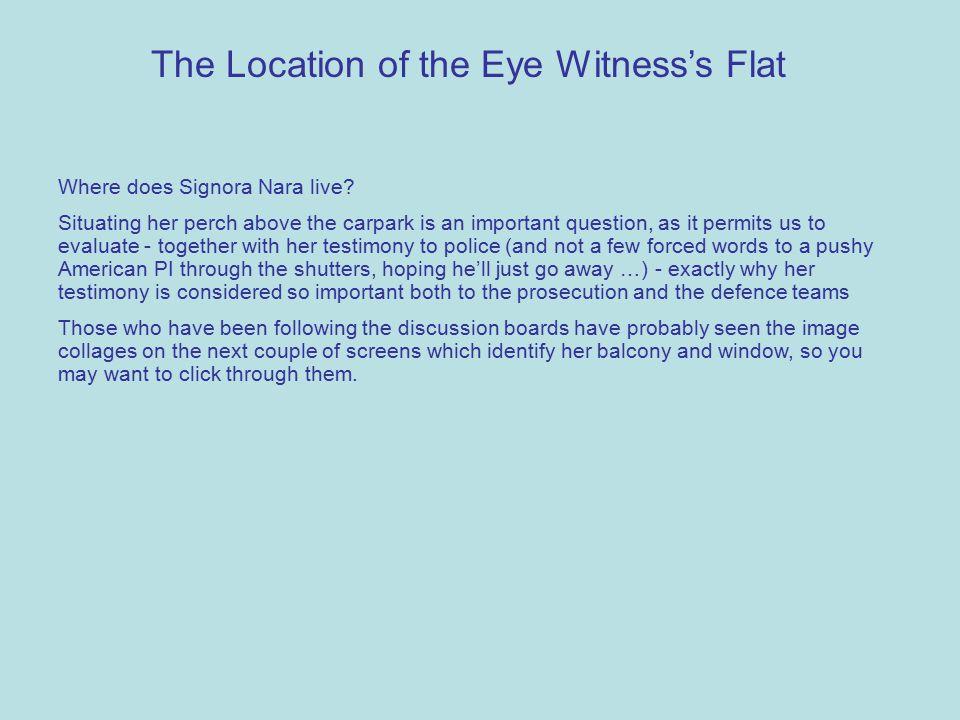 Where does Signora Nara live.