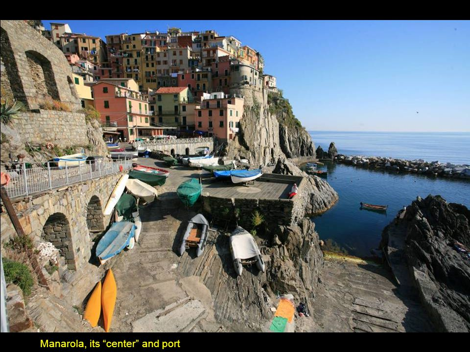 Cinque Terre: The village of Manarola.