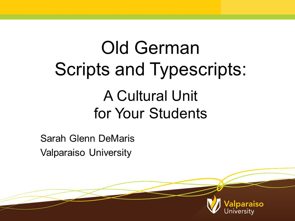 Old German Handwritten Scripts Your Students Have Seen Letters from a great-grandparent Family documents or diaries Entries in a family Bible
