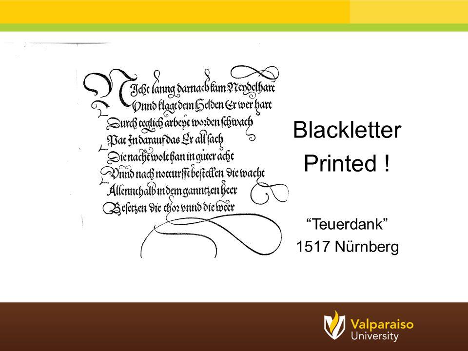 Blackletter Printed ! Teuerdank 1517 Nürnberg