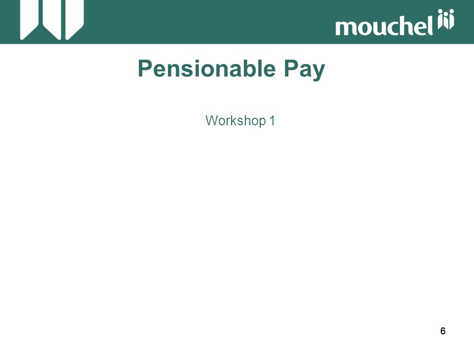 47 Pensionable Pay