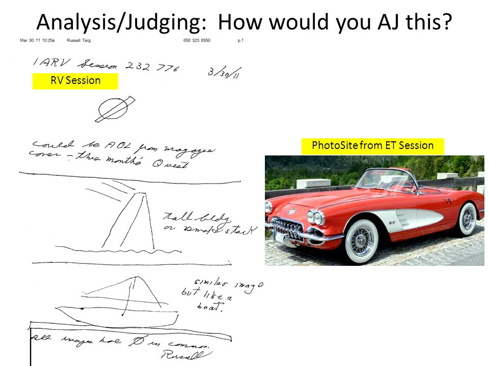 Analysis/Judging: How would you AJ this RV Session PhotoSite from ET Session