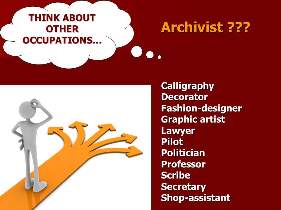 Archivist .