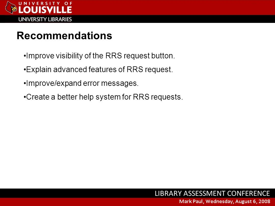 Improve visibility of the RRS request button. Explain advanced features of RRS request.