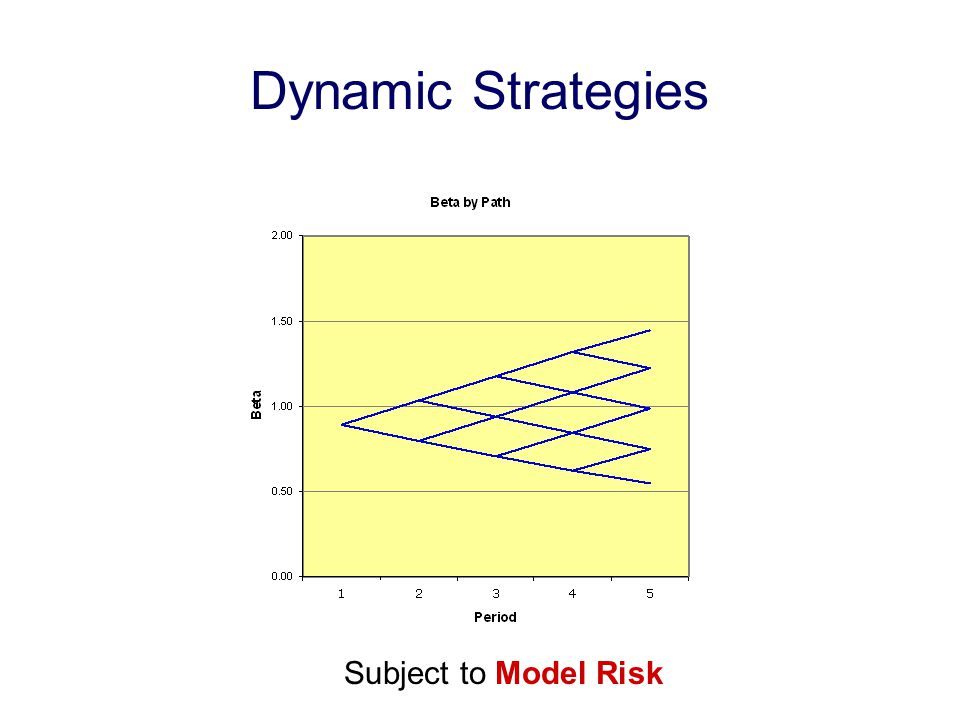 Dynamic Strategies Subject to Model Risk