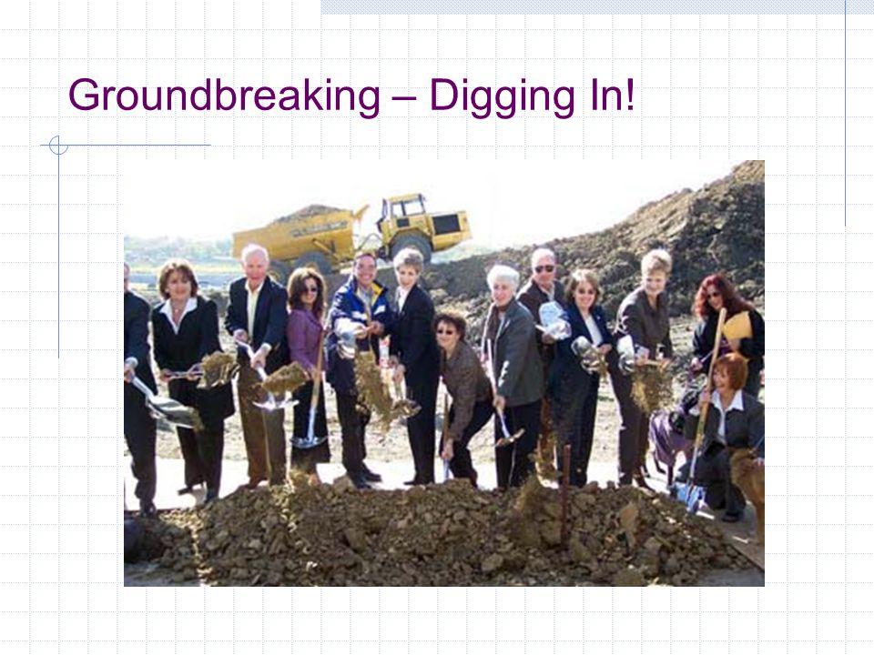 Groundbreaking – Digging In!