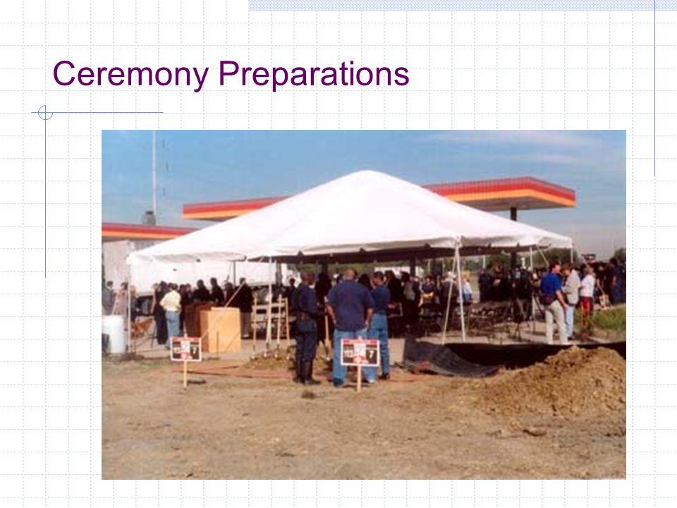 Ceremony Preparations