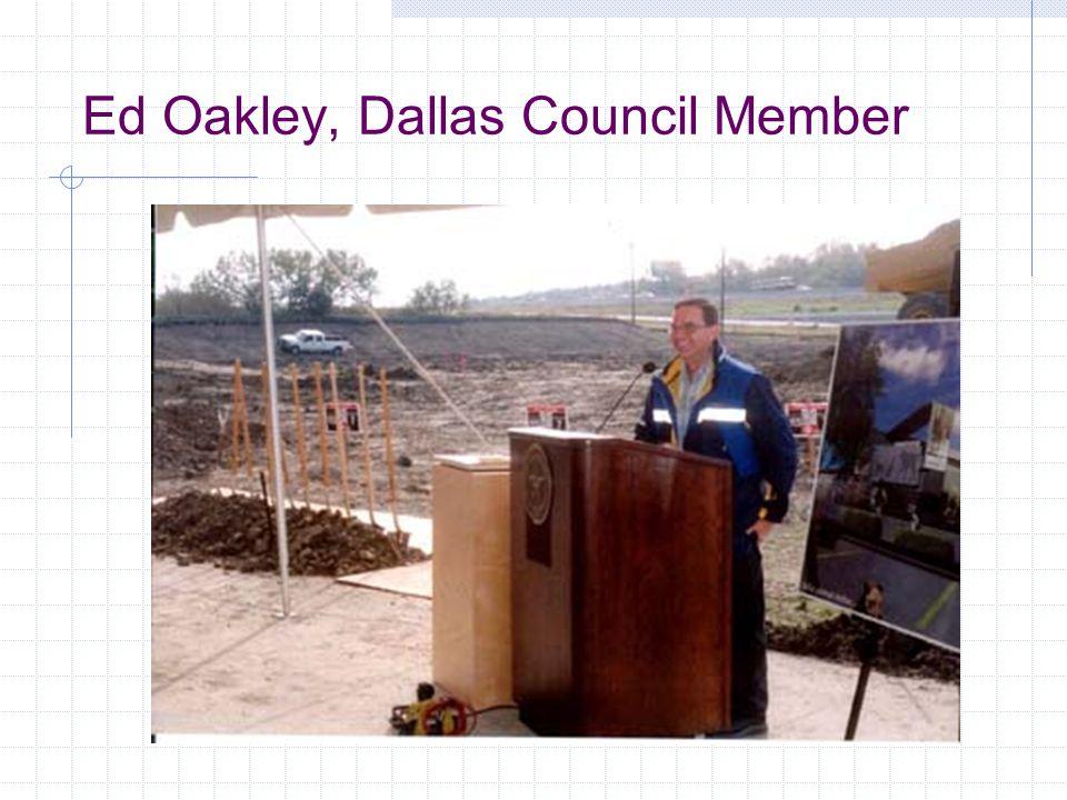 Ed Oakley, Dallas Council Member