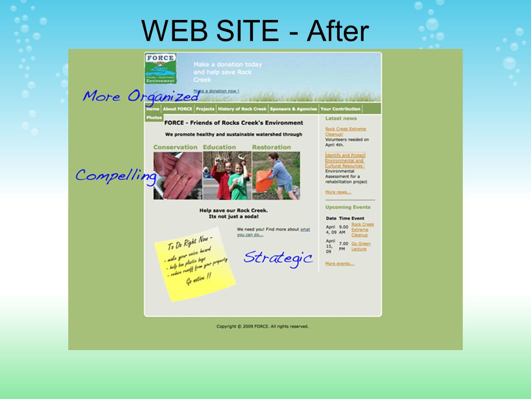 WEB SITE - After