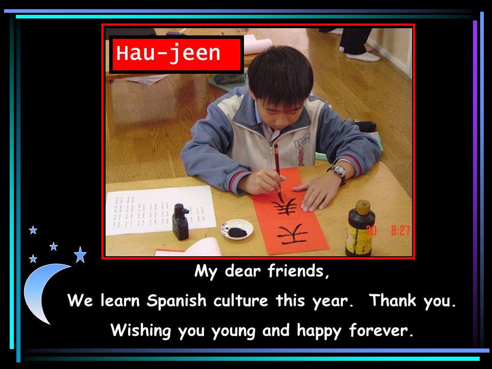 Bo-shian Hello, my friends, Thank you. Wishing you good health.