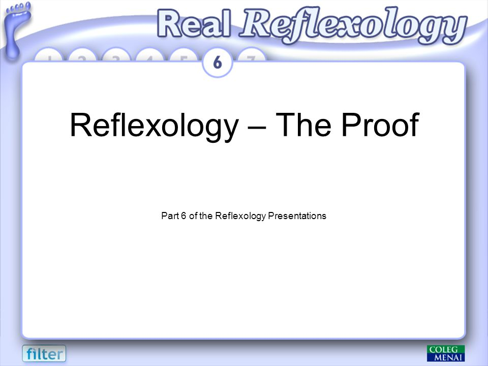 Reflexology – The Proof Part 6 of the Reflexology Presentations