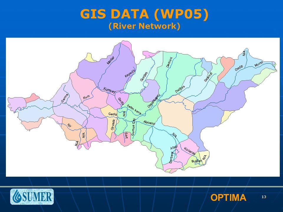OPTIMA 13 GIS DATA (WP05) (River Network)
