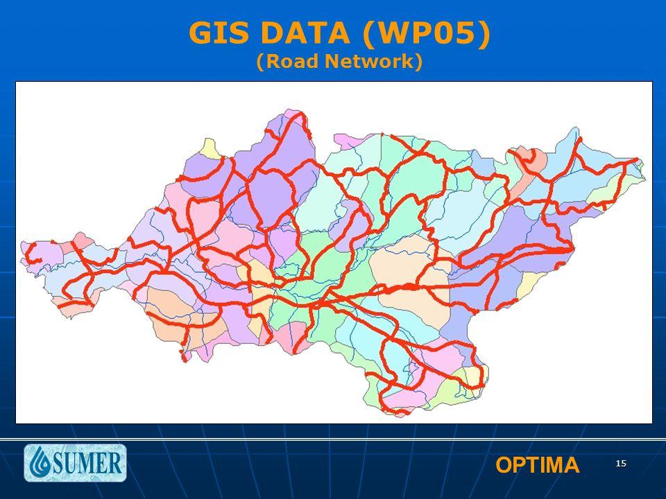 OPTIMA 15 GIS DATA (WP05) (Road Network)