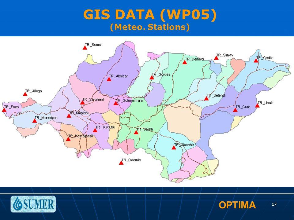 OPTIMA 17 GIS DATA (WP05) (Meteo. Stations)