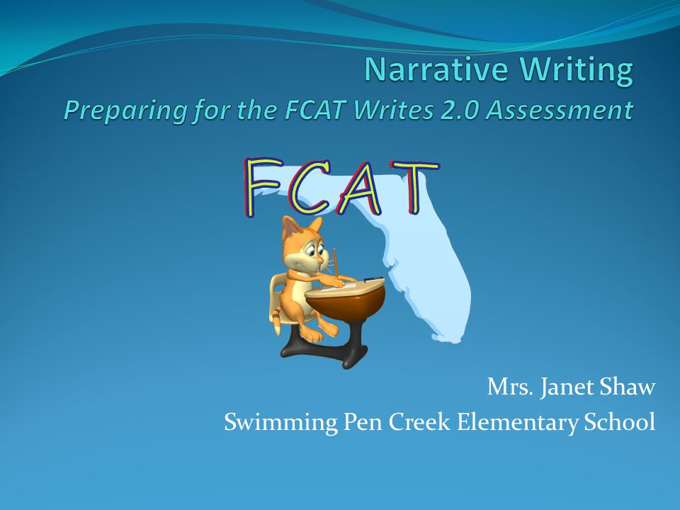 Mrs. Janet Shaw Swimming Pen Creek Elementary School