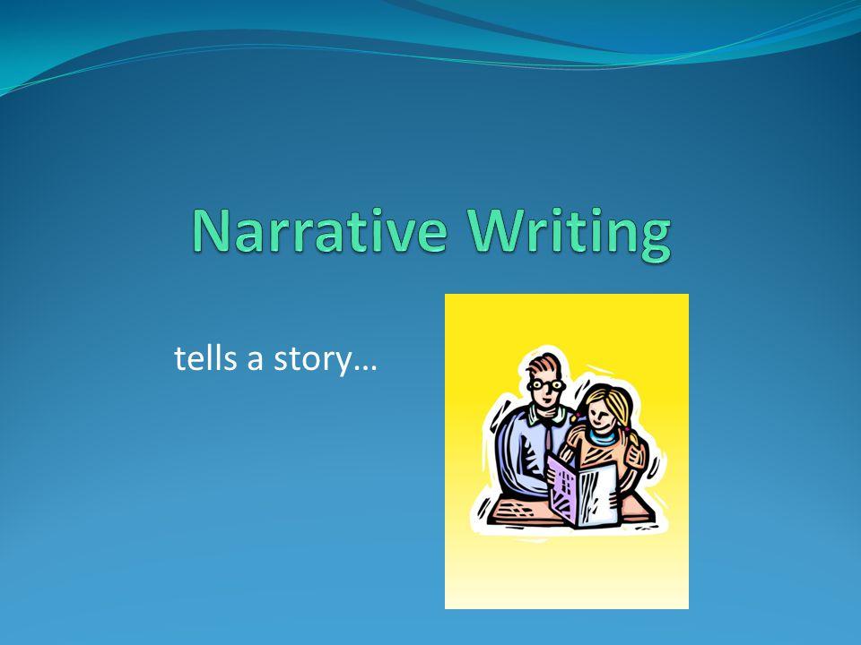 tells a story…