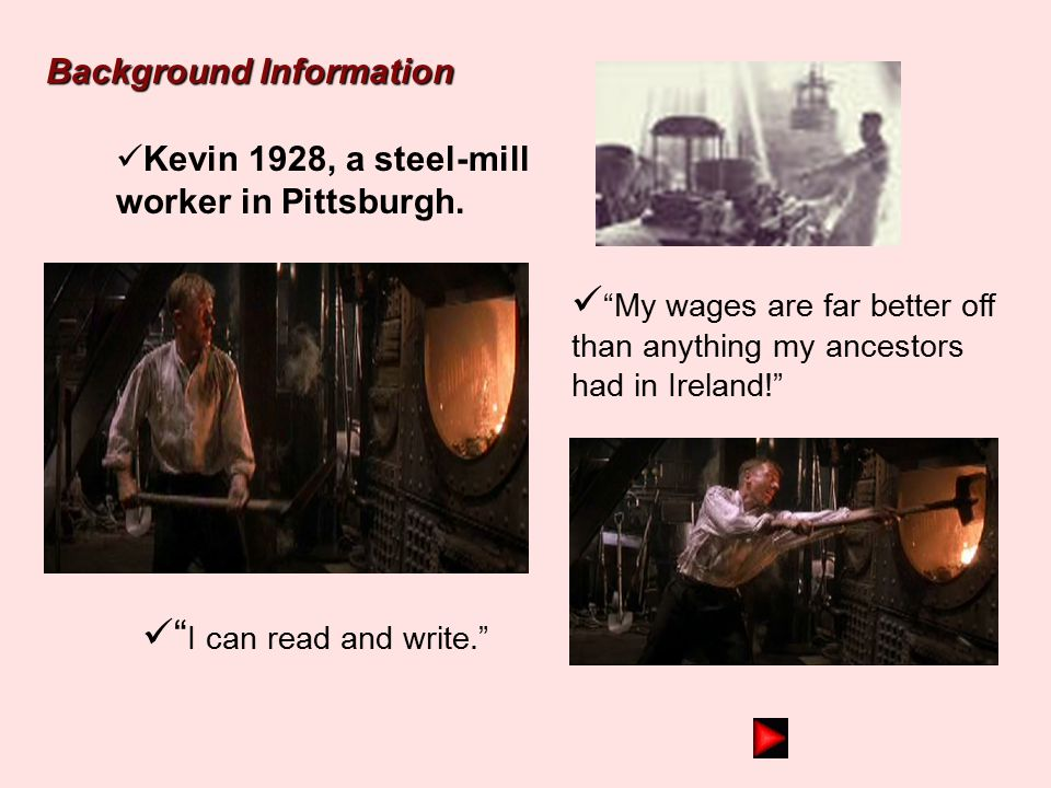 """Kevin 1835, a poor peasant in County Kerry, Ireland always hungry and must search for food """" Without education and money, I am powerless!"""" """"My only ho"""