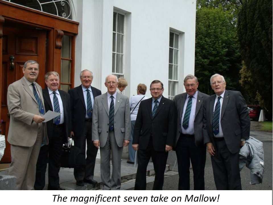 The magnificent seven take on Mallow!