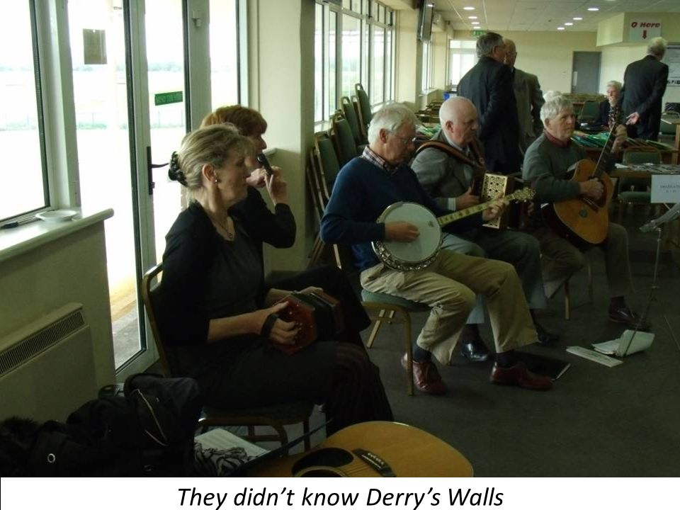 They didn't know Derry's Walls