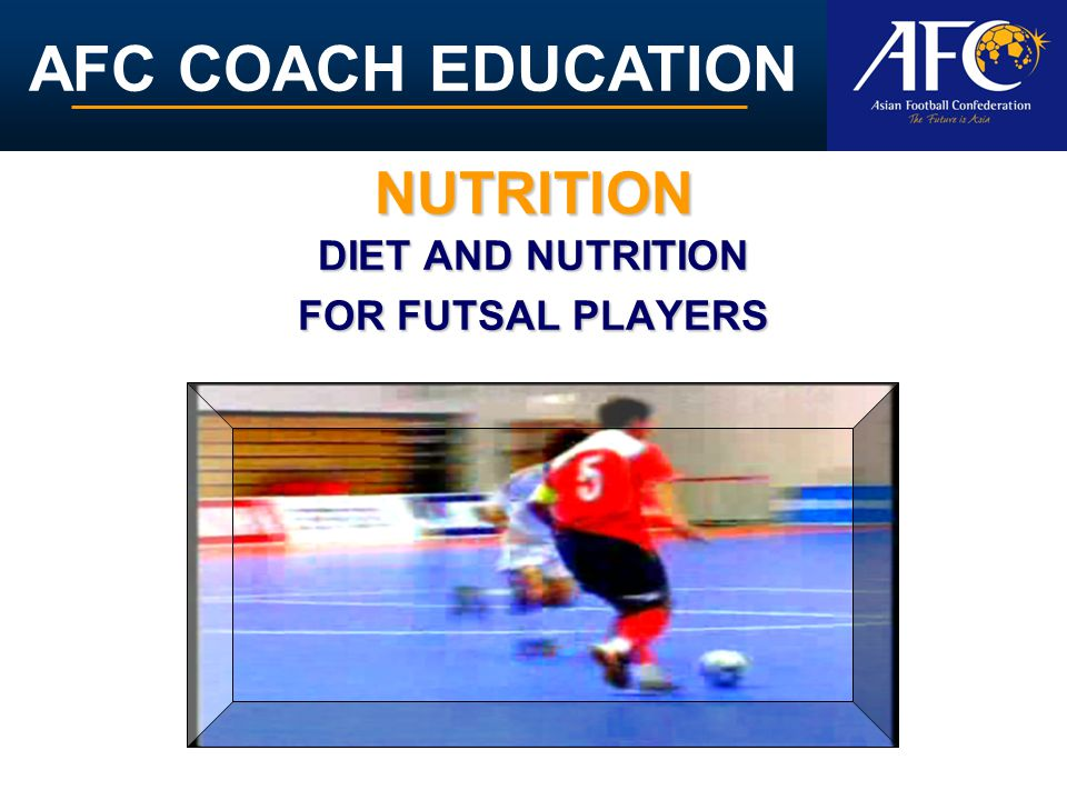 AFC COACH EDUCATION Alcohol actually leads to dehydration