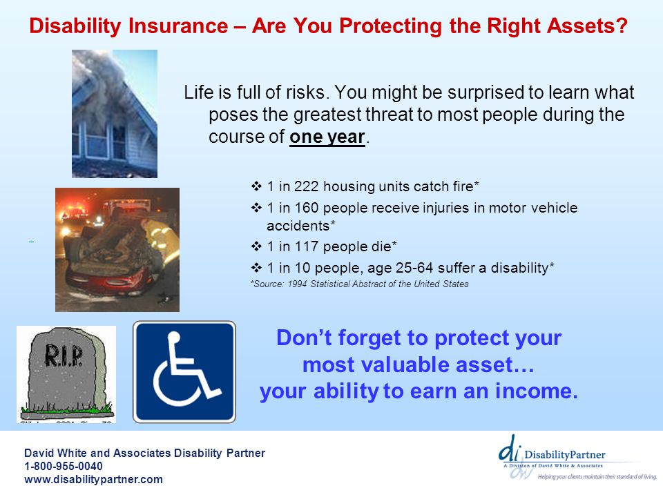 Disability Insurance – Are You Protecting the Right Assets.