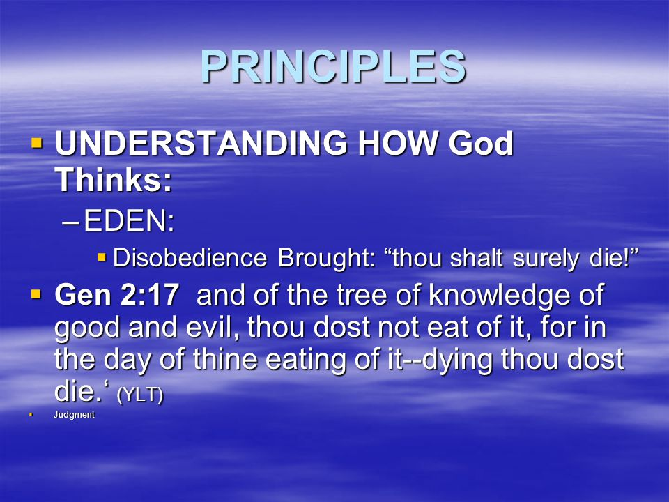 COVENANT / COMMANDS  Deu 4:13 The LORD said he was making an agreement with you, and he told you that your part of the agreement is to obey the Ten Commandments.