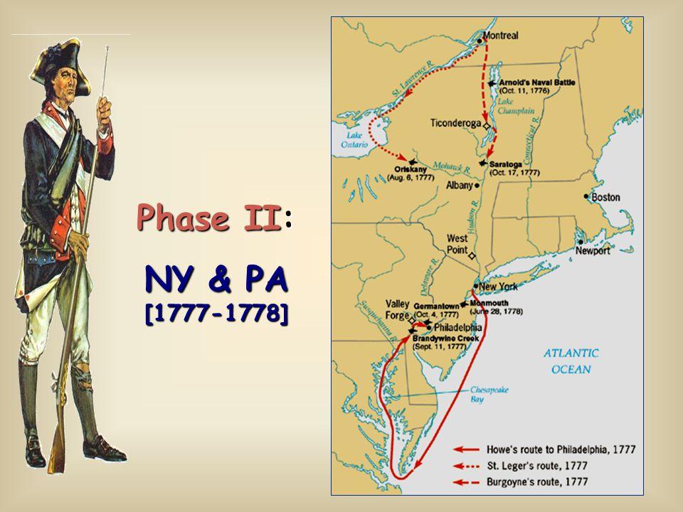 Phase II: NY & PA [1777-1778]