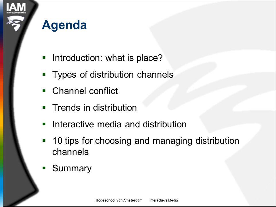 Hogeschool van Amsterdam Interactieve Media Interactive media products  Interactive media also provides a channel for interactive media products  E.g.