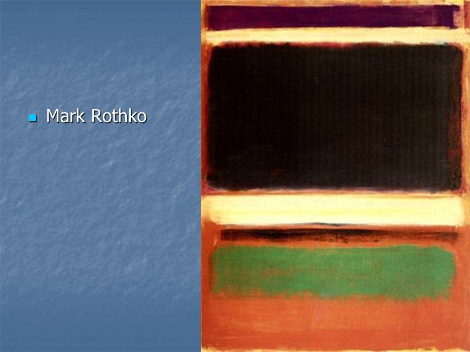 Mark Rothko Mark Rothko