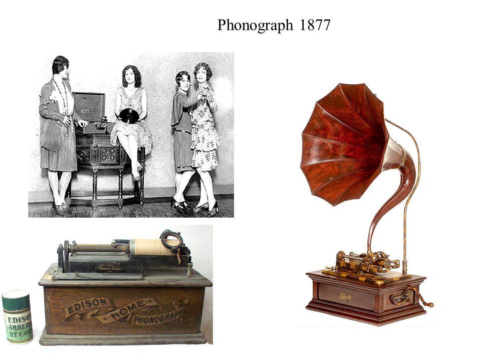 Phonograph 1877
