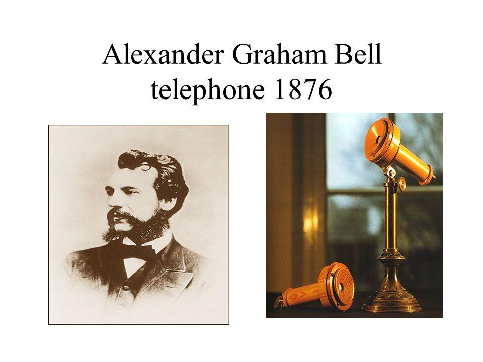Alexander Graham Bell telephone 1876