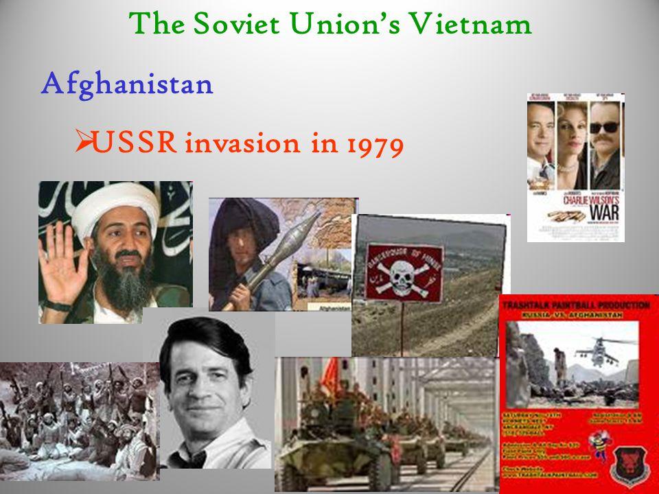 The Soviet Union's Vietnam Afghanistan  USSR invasion in 1979