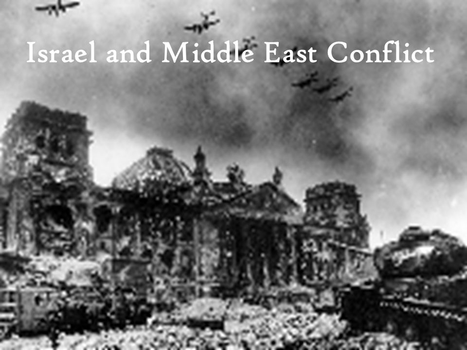 Israel and Middle East Conflict