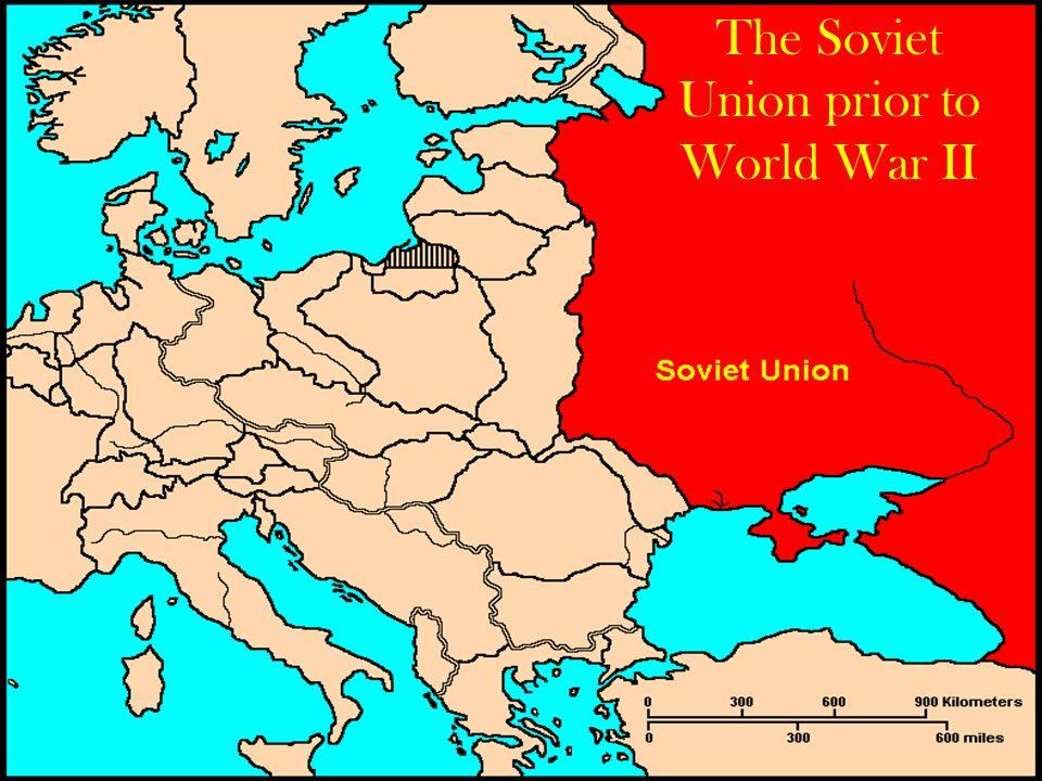 The Soviet Union prior to World War II