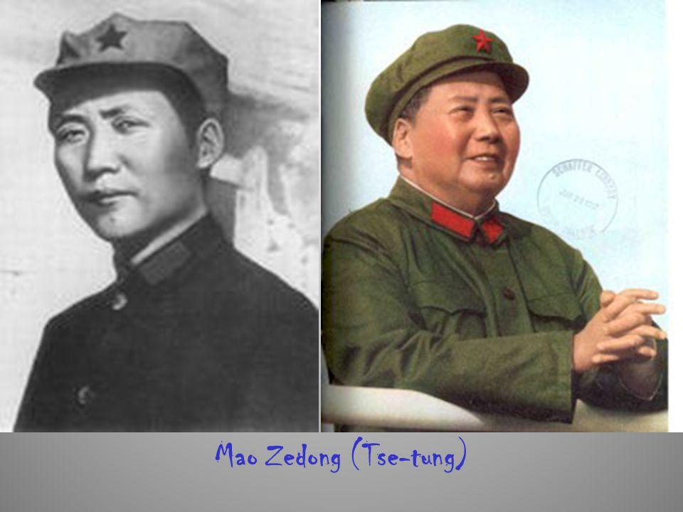 Mao Zedong (Tse-tung)